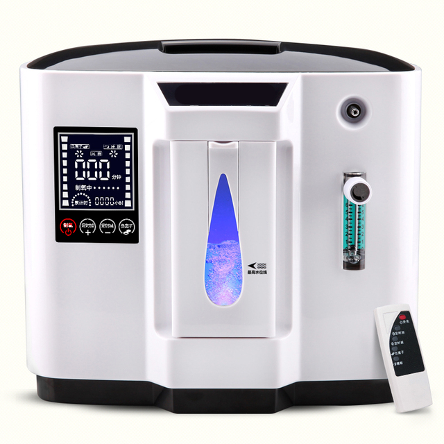 Top grade 90% high purity 6L flow home use medical portable oxygen concentrator generator DDT-1A