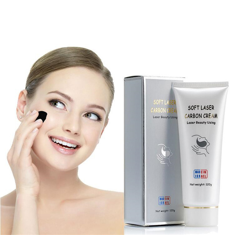 Soft Laser Carbon Cream Gel For ND Yag Laser Skin Rejuvenation Treatment Active Carbon CreamSoft Laser Carbon Cream Gel For ND Yag Laser Skin Rejuvenation Treatment Active Carbon Cream