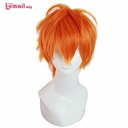 Hot-10inch-25CM-Men-Short-Black-Orange-Grey-Synthetic-Koushi-Sugawara-Nishinoya-Yuu-Hinata-Anime-Haikyuu