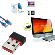 2016 sizzling sale Mini USB 2.zero WiFi Adapter N 802.11 b/g/n Wi-Fi Dongle Excessive Achieve 150Mbps Wi-fi Antenna wi fi for laptop Cellphone