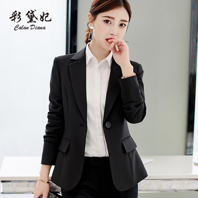 Version In Spring And Summer Of 2019, A Large-size Small Suit Jacket, A Casual Fashion Long-sleeved Suit For Women