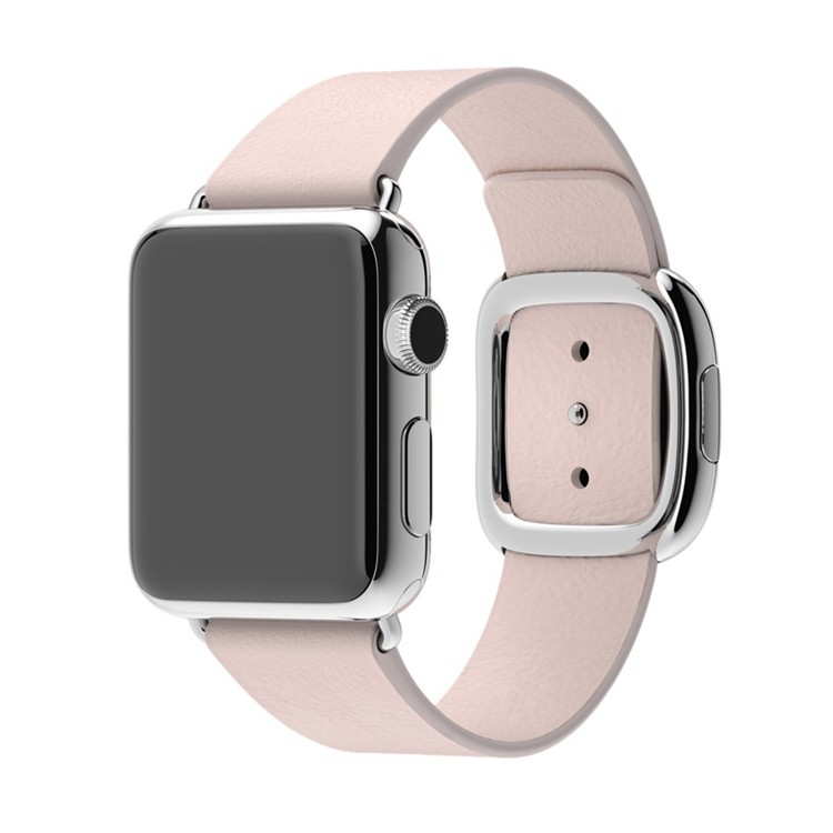 Blue-Black-Brown-Pink-Original-1-1-Modern-Buckle-Leather-band-for-Apple-Watch-band-38mm (2)