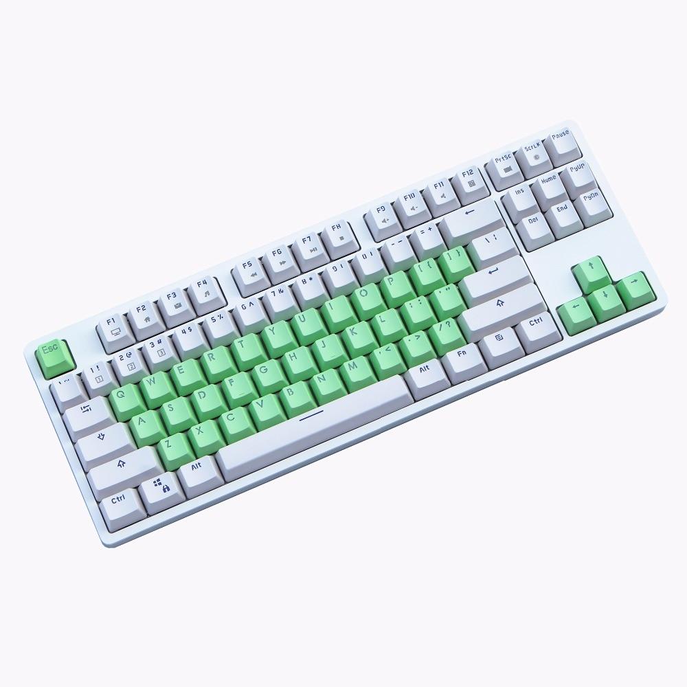 OEM Profile PBT keycap 38 Keys cherry MX switch Double-shot Backlit mechanical keyboard keycap Only sell keycaps