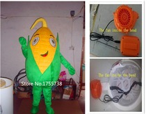 Custom plant mascot costume corn mascot costume for adults for sale free Shipping