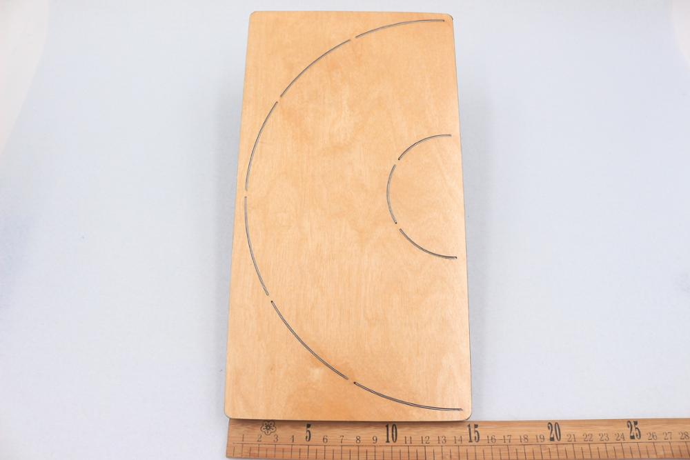 Round pendant decoration cutting dies 2019 die cut wooden dies Suitable for common die cutting machines on the market in Cutting Dies from Home Garden