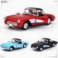 Modelos de aleación De Coche de Juguete Los Niños de Nuevo Azul Rojo Clásico Vintage Antiguo Coche Coupe Modelos Del Coche Estática 1082