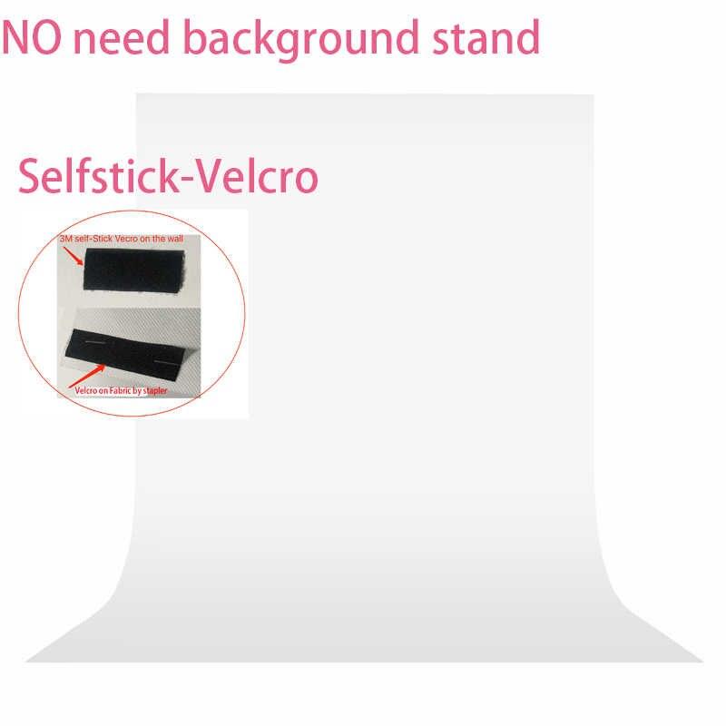 Nie ma potrzeby zestaw stojaków 7 kolory 1.6X1m fotografia studio tło Green Screen Chroma key tło włókniny tło dla Photo Studio