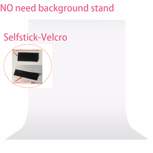 Image 2 - No need Stand Kit 7colors 1.6X1m Photography studio Green Screen Chroma key Background Non Woven Backdrop for Photo Studio