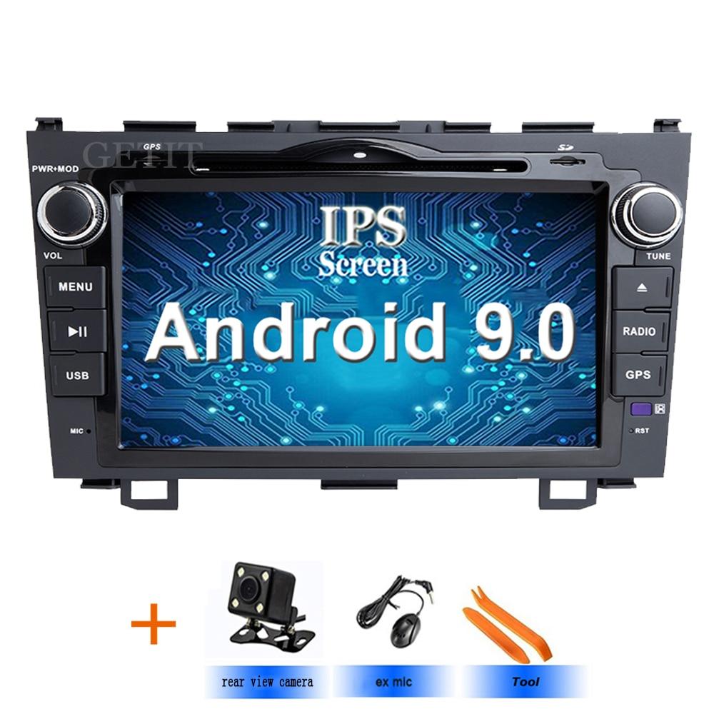 Car dvd player GPS Navi For Honda CRV 2006 2011 IPS Capacitive screen 1024 600 wifi