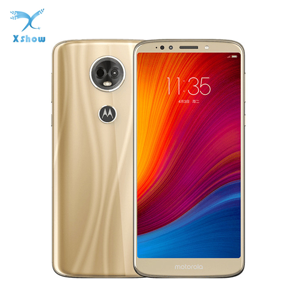 MOTO E5 PLUS 6 0Inch 3 4GB RAM 32 64GB ROM Cellphone Dual camera Snapdragon 430