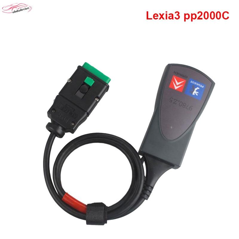 2018 Полный Чип Lexia3 Средство Новейшим Програмным В7.83 встроенного реле Оптроны инструмент lexia 3 pp2000 для Peugeot и Citroen