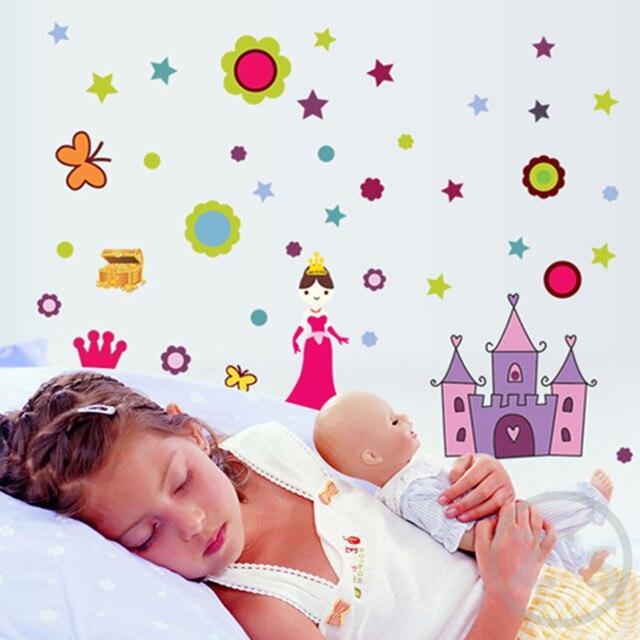 Aliexpress.com : Buy Zs Sticker Princess Wall Stickers for Kids ...