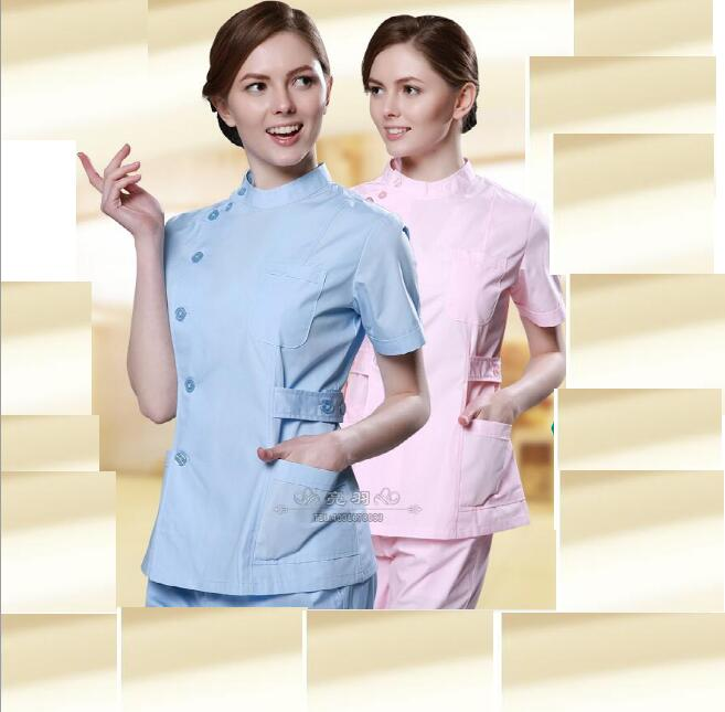 Nurse Uniform Hospital Medical Scrub Set Clothes Surgical Isolation Medical Uniform Scrub Sets