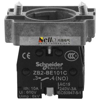 [SA] 22mm base metal XB2B series with contacts ZB2BZ105C 1NO1NC--10pcs/lot