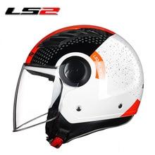 LS2 mezzo del fronte del casco moto rcycle casco casco moto capacete capacetes de moto ciclista 562