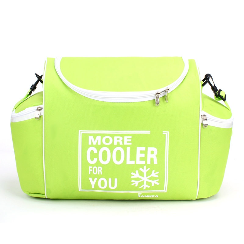 24 L 600D Waterproof Lunch Bag Oxford Ice Pack Insulated Lunch Cold Storage Bags Fresh Food Shawl Picnic Insulation Package