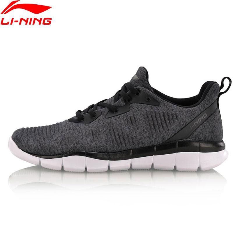 Li Ning Men FLEX RUN Smart Moving Running Shoes Breathable LiNing Sports Shoes Light Weight Footwear