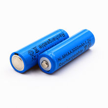 1PC AA 1.2V 3000mAh battery AA Ni-MH 1.2v 1800mAh AAA Rechargeable Batteries battery Garden Solar Light LED flashlight torch(China)