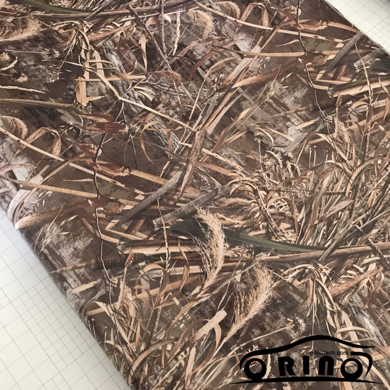 Shadow Gras Vinyl Film ORINO Realtree Auto Wrap Film Met Luchtbel Gratis Camouflage Voertuig Auto Motor Full Wrapping Folie - 4
