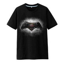 New Men's Cool Creative T-Shirt Batman Vs Superman Logo Short Sleeve   3D T-Shirt