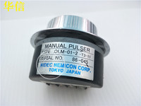 [VK] Used MANUAL PULSER OLM 01 2 T3 11 imported optical encoder + 5v 0V AB switch