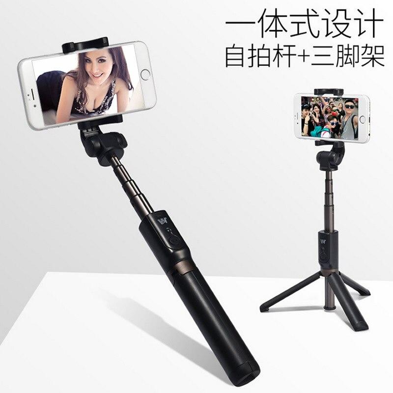 Échafaudage de poteau de bâton de Selfie pour le trépied extensible Compact multifonctionnel de téléphone portable