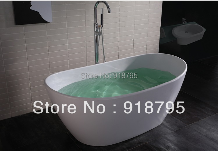 1630x850x640mm Solid Surface Stone CUPC Approval Bathtub Oval Freestanding Corian Matt Or Glossy Finishing Tub RS65091630x850x640mm Solid Surface Stone CUPC Approval Bathtub Oval Freestanding Corian Matt Or Glossy Finishing Tub RS6509