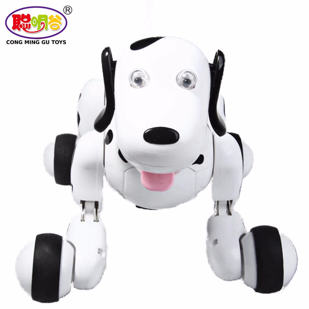 777-338 RC walking dog 2.4G Wireless Remote Control Smart Dog Electronic Pet Educational Children's Toy Robot Dog for AI Gift intelligent wireless remote control robot dog kids dancing walking dog