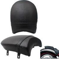 Motorcycle PU Leather Rear Passenger Passenger Seat for Victory Boardwalk Judge Vegas Highball Gunner