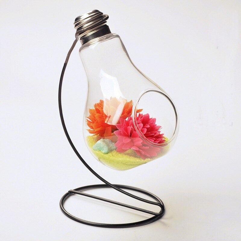 Невероятно Только $8.99, Европейский творческой лампочка стеклянная ваза, гидропоники вазу, гладить ремесла костюм, домашнего интерьера