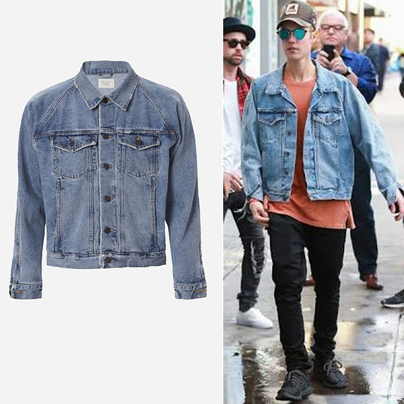 Compare Prices on Justin Bieber Denim Jacket- Online Shopping/Buy ...
