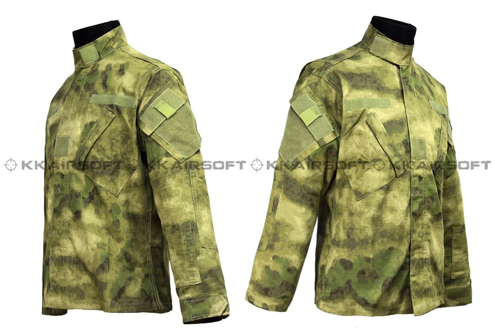 Us Army Military Uniform For Men A-TACS FG Vel Cro BDU Uniform Em6923