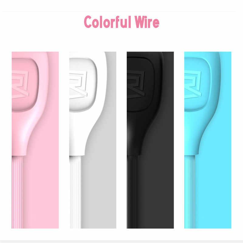 Remax Micro USB Micro Kabel Data Pengisian Kabel Charger Cepat Transfer USB Micro Kabel Data 1 M untuk Xiomi Samsung ponsel