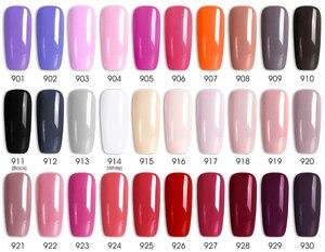 Image 4 - 62pcs*7.5ml VENALISA Gel Polish Nail Art Salon Manicure Wholesale Soak off Base No Sticky Topcoat UV LED Nail Gel Varnish Kits