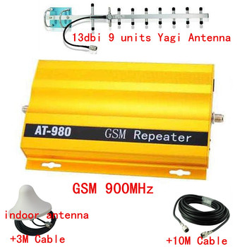 13db yagi +900Mhz GSM Signal Repeater for Mobile, Cellphone GSM900Mhz Signal Booster 2g Mobile Communication Signal Amplifier