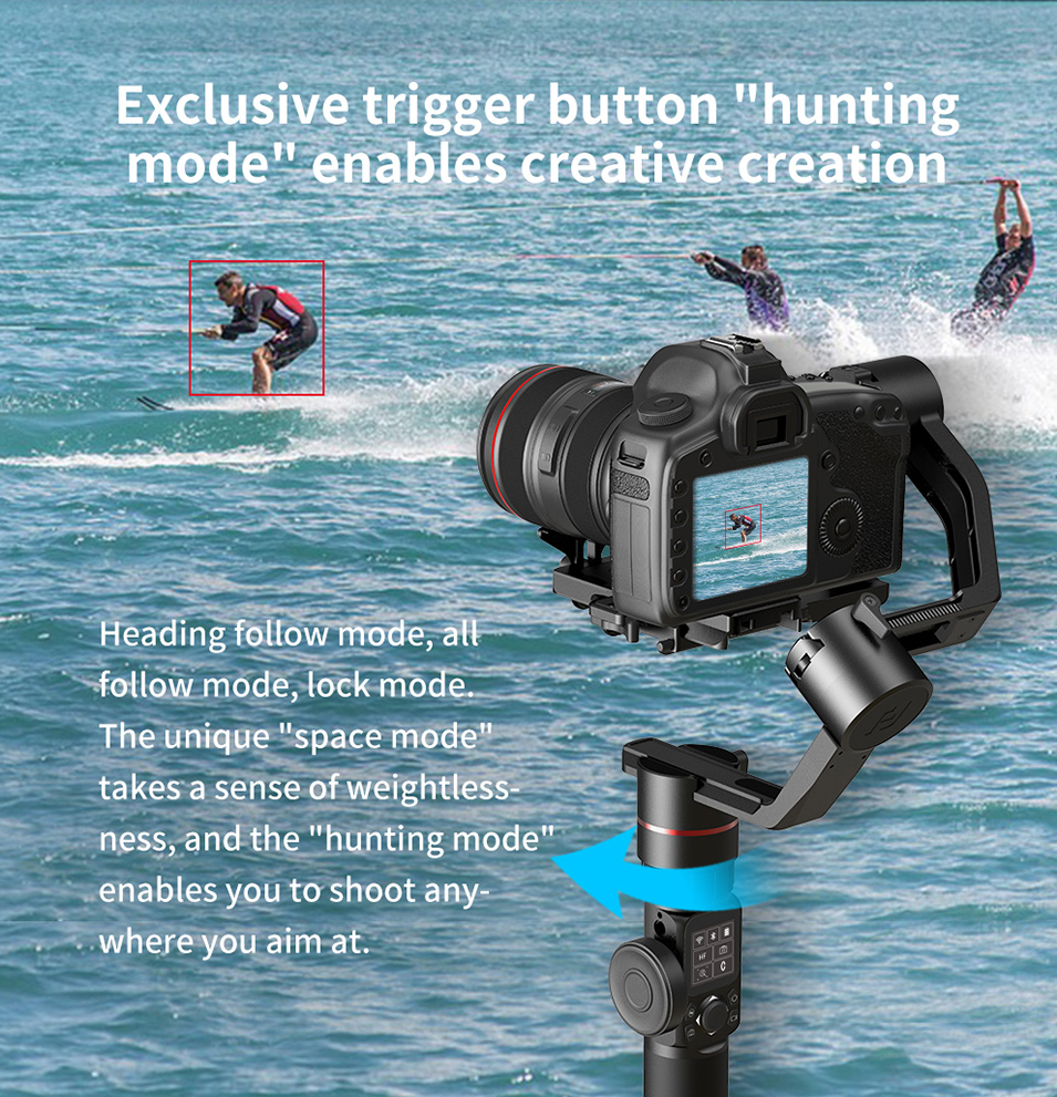 Feiyutech Feiyu AK4000 AK00 3-Axis DSLR Stabilizer Follow Focus Handhel Video Gimbal for Sony Canon Panasonic Nikon cameras 22