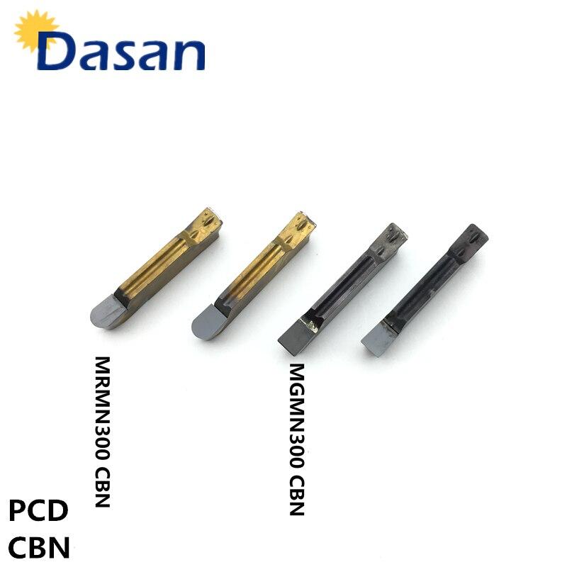 1 pz CBN MGMN150/MGMN200/MGMN250/MGMN300/MGMN400/MGMN500 nitruro di Boro CBN lama PCD INSERTO PER materiali di Alluminio di alta durezza