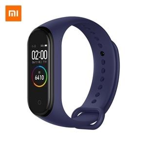 Image 5 - Xiao mi mi Smart Band 4 Bracelet NFC & Li mi ted Edition 0.95 pouces écran 5ATM étanche capteur de fréquence cardiaque mi band Bracelet mi Fit
