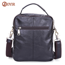 Joyir Genuine Leather Men Bag Shoulder Casual Retro Bags Men Genuine Leather Crossbody Bags For Men Messenger Bags Handbags 8716