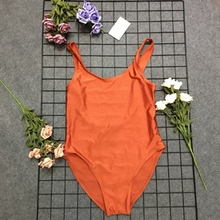 9bf5125ca2 TEQUILA SUNRISE Funny Letters Women Swim suit Sexy Low Back High Cut  Swimwear Bathing Beachwear Swimsuits
