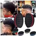 4Pcs Double Wave Hair Brush Magic Hair Twist Sponge Dreads Twisting Dreadlocks Curl Sponge