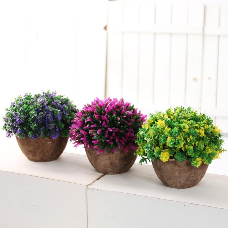 Flores Maceta Affordable Lote De Macetas Con Flores Para Casita De
