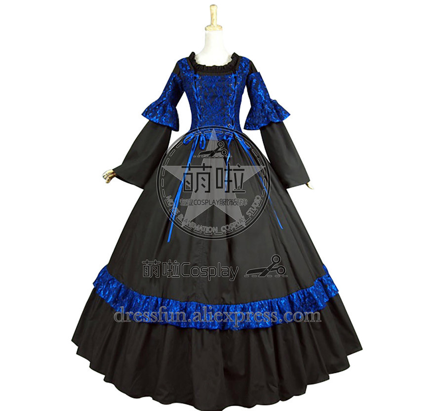 6eafb9ad366 Online Shop Victorian Lolita Corset Lace Theatre Gothic Lolita Dress With  Charming Ruffles Decorated Gorgeous For Halloween Fast Fashion