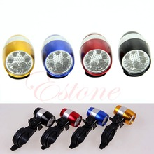 6 LED Cycling Bike Bicycle Head Front Flash Light Warning Lamp Safety Waterproof