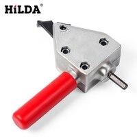 HILDA Metal Cutting Sheet Cutting Tool Nibbler Sheet Metal Cutter Cutter Tool Drill Attachment Power Tool
