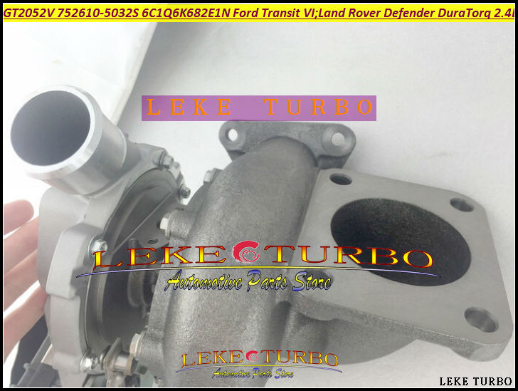GT2052V 752610 752610-5032S 752610-0015 1020183 1355059 Turbo For Ford Transit 6 For Land Rover Defender Puma DuraTorq 2.4L TDCi  цены