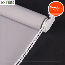 SCHRLING Free shipping Blackout Fabric 28mm Base System Roller Blinds Curtains in Bedrooms For Living room