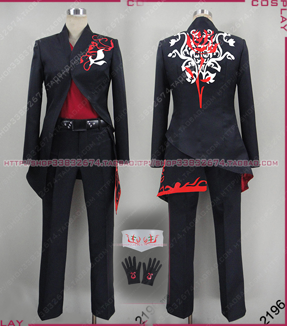 RWBY Adam Cosplay Costume full set with gloves for men font b women b font