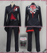RWBY Adam Cosplay Costume full set with gloves for men/women