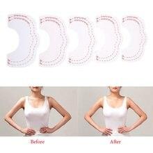 Fita adesiva para levantamento de peito, fita de elevação instantânea invisível para levantamento da mama, acessórios para sutiã, 1 conjunto com 10 peças reforço a elevação da fita
